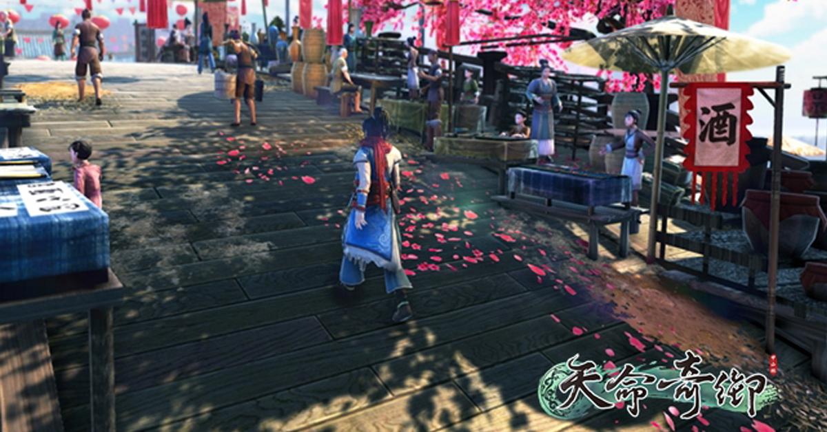 天命奇御從美術角度介紹遊戲場景、環境設計